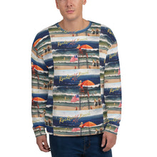 Load image into Gallery viewer, Rockaway Beach Postcard Unisex Sweatshirt