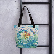 Load image into Gallery viewer, Whalemina Tote Bag