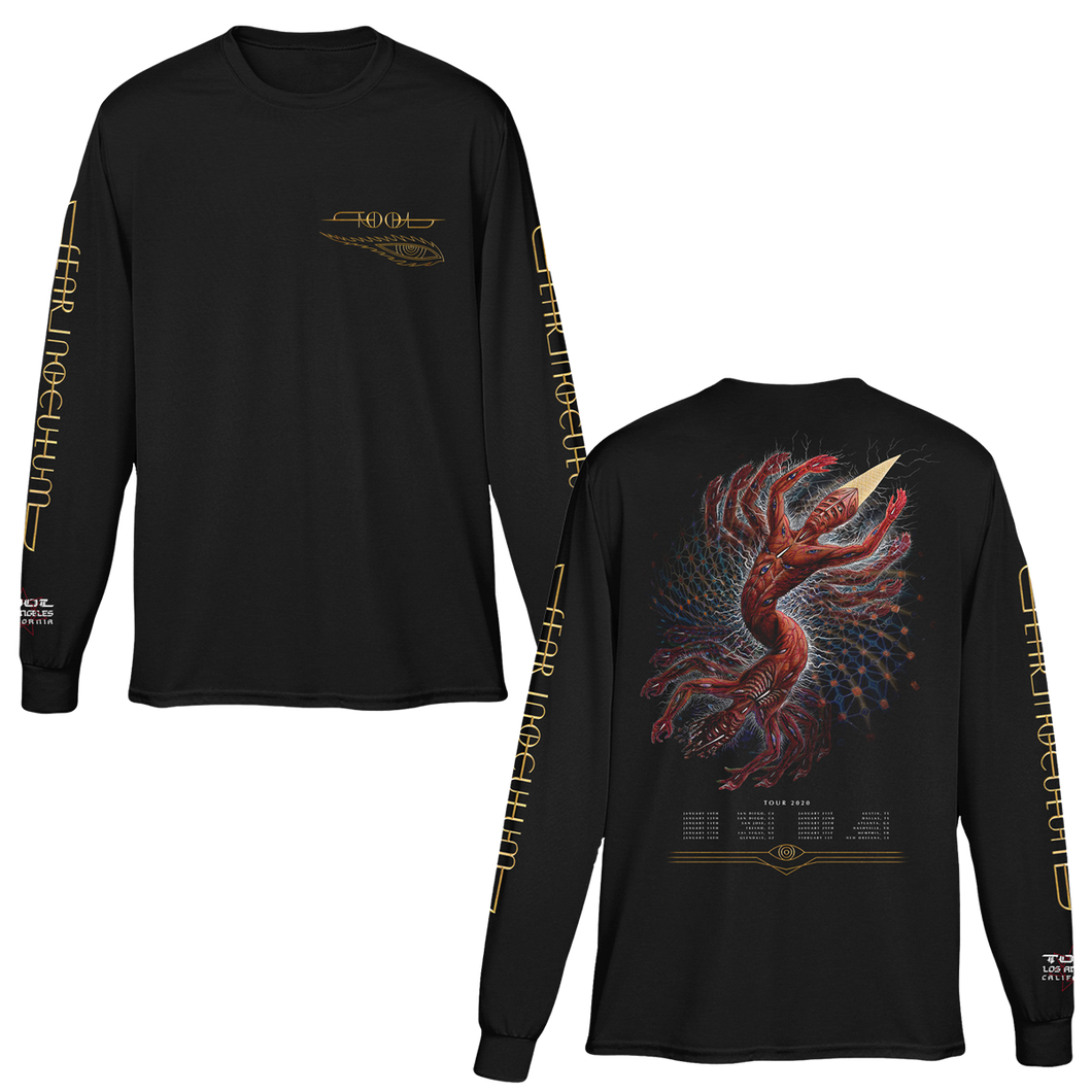 The Great Turn Jan-Feb 2020 Tour Longsleeve Tee-Tool