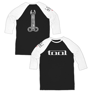 Wrench Raglan 3/4 Sleeve Tee-Tool