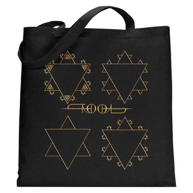 Fractal Star Tote Bag-Tool