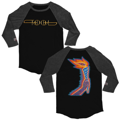 The Torch Raglan 3/4 Sleeve Tee-Tool