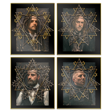 Portrait Enamel Pin Set-Tool