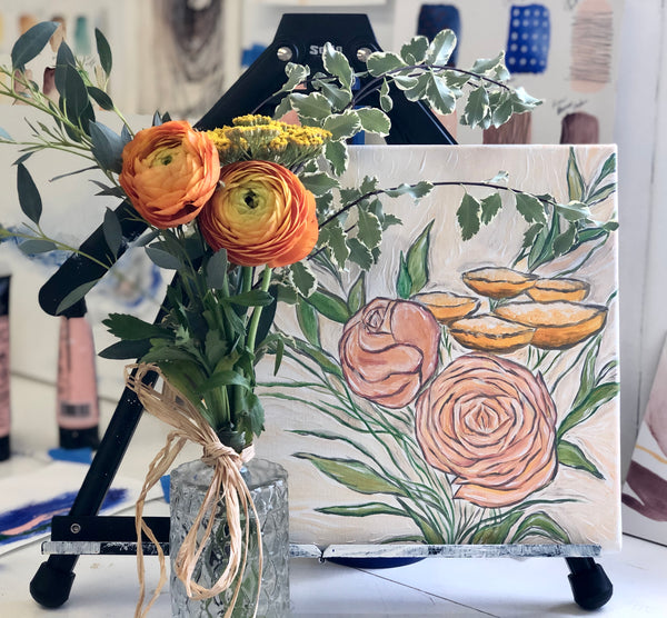 Workshop: Abstract Floral Painting