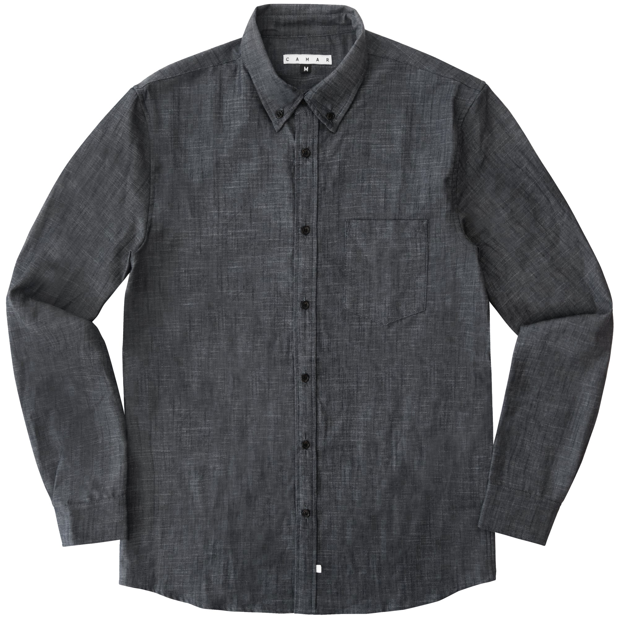 ANTIQUE CHAMBRAY LS WOVEN