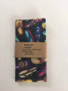 Beeswax Wraps Small Size (The Jandal.)
