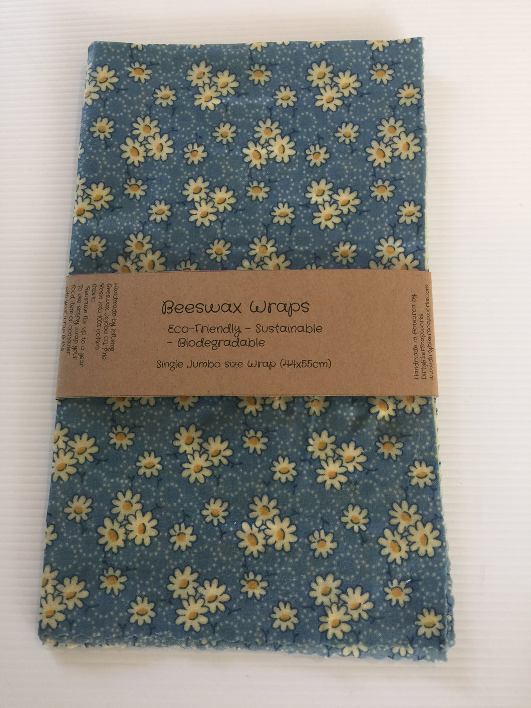 Beeswax Wraps Jumbo Size ( The Yellow Flower Jumbo )