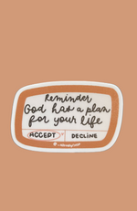 Reminder: God has a plan for your life