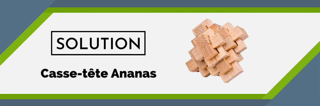 Solution Casse-Tête Ananas