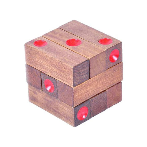 casse-tete-cube-point-rouge-dé