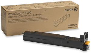 Xerox 106R01316 Black High Yield Laser Toner Cartridge (Genuine)