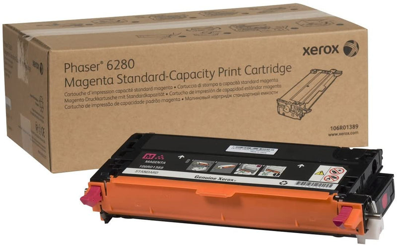 Xerox 106R01391 Black Laser Toner Cartridge (Genuine)