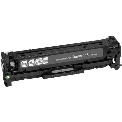 Canon 118 Black Laser Compatible Toner Cartridge (2662B001AA)