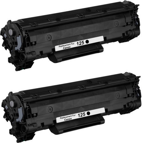 Canon 125 Black Laser Compatible Toner Cartridge (3484B001AA)