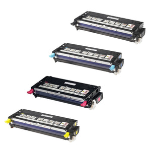 Value Set of 4 Dell 310-8092 Toners: Black / Cyan / Magenta / Yellow (Compatible Toner Cartridges)