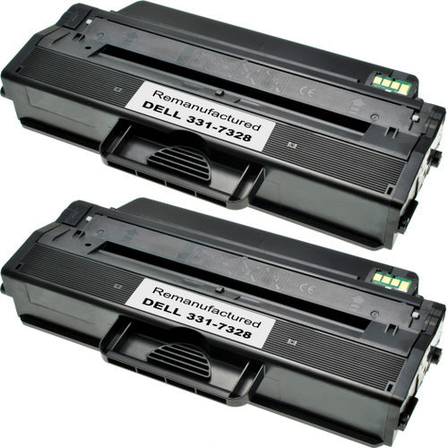Dell 331-7328 Black Laser Compatible Toner Cartridge
