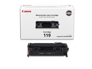 Canon 119 Black Laser Toner Cartridge (3479B001AA) (Genuine)