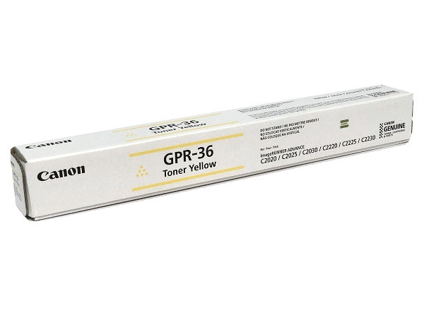 Canon GPR36 Black Laser Toner Cartridge (3782B003AA) (Genuine)