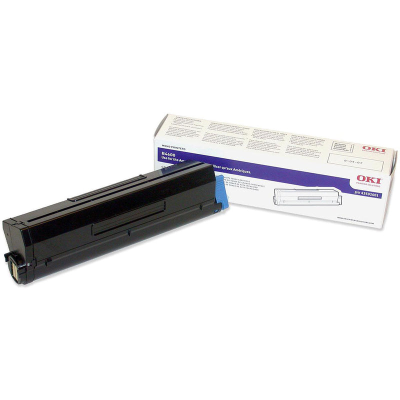 Oki-Okidata 43502301 Black Laser Toner Cartridge (Type 9) (Genuine)