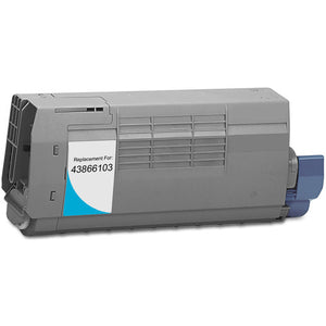 Oki-Okidata 43866104 Laser Compatible Toner Cartridge