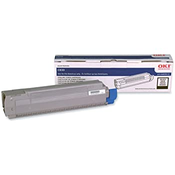 Oki-Okidata 44059112 Black Laser Toner Cartridge (Genuine)