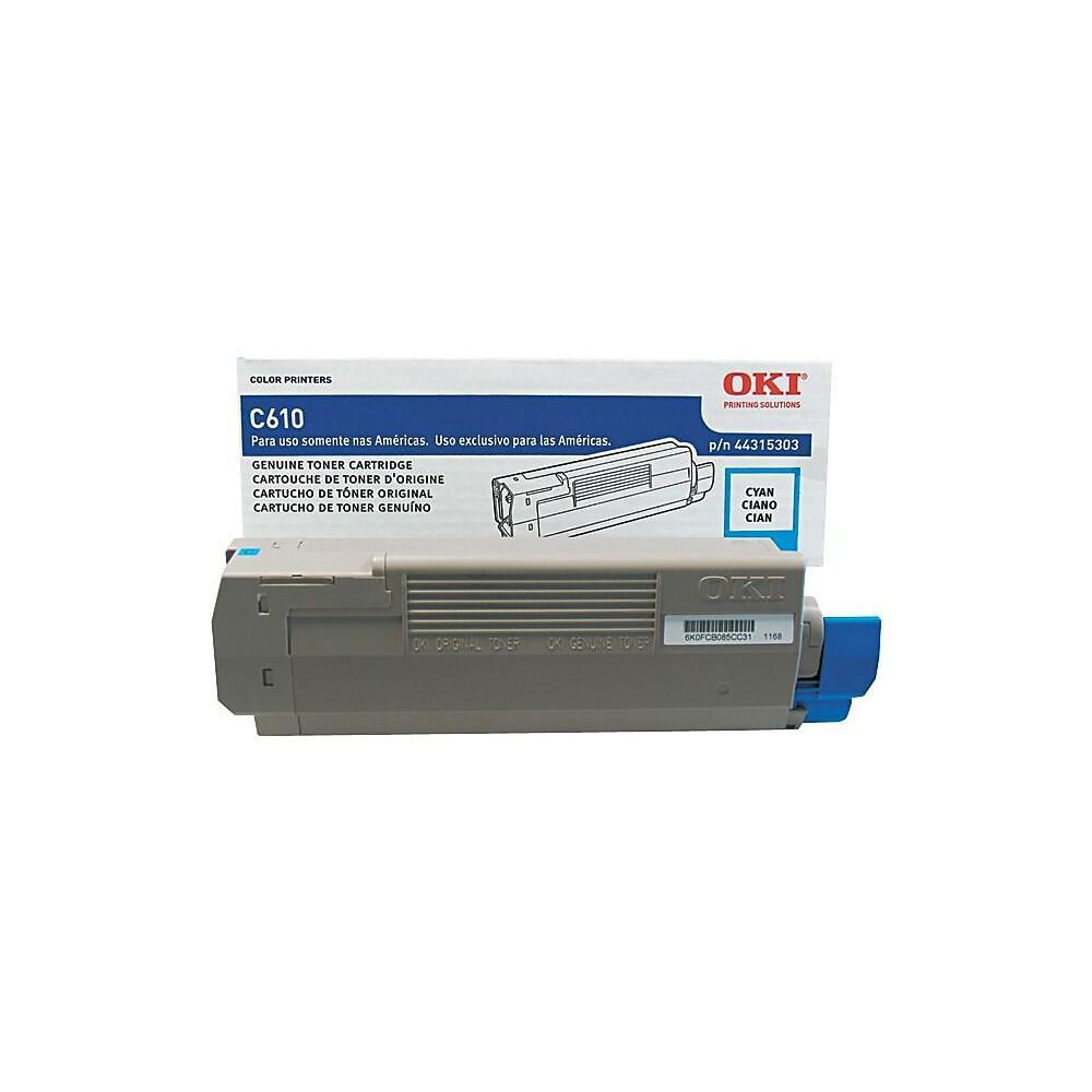 Oki-Okidata 44315304 Black Laser Toner Cartridge (Genuine)