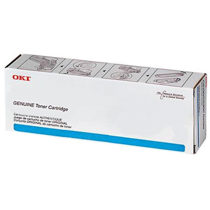 Oki-Okidata 45396224 Black Laser Toner Cartridge (Genuine)