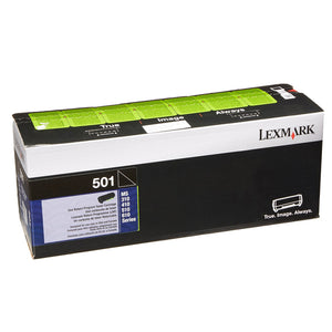 Lexmark 50F1000 Black Laser Toner Cartridge (501) (Genuine)