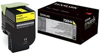 Lexmark 70C0H10 Black High Yield Laser Toner Cartridge (700H1) (Genuine)