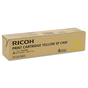 Ricoh 820072 Black Laser Toner Cartridge Genuine)