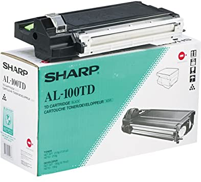 Sharp AL100TD Black Laser Toner Cartridge (Genuine)