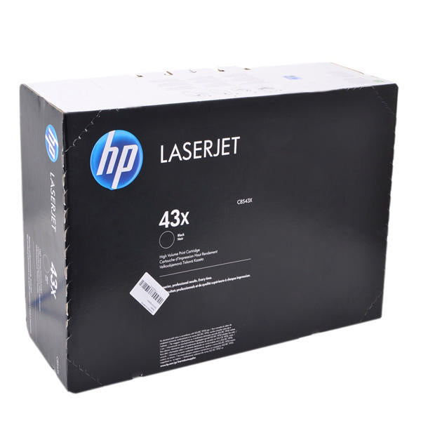 Hewlett Packard C8543X Laser Toner Cartridge (43X) (Genuine)