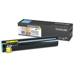 Lexmark C930H2KG Black High Yield Laser Toner Cartridge (Genuine)