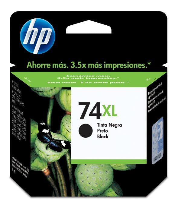 Hewlett Packard 74XL Black Inkjet Cartridge (CB336WN) (Genuine)