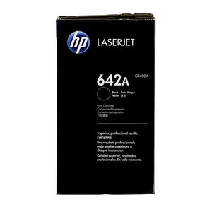 Hewlett Packard CB400A Laser Toner Cartridge (642A) (Genuine)