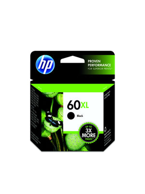 Hewlett Packard 60XL Black Inkjet Cartridge (CC641WN) (Genuine)