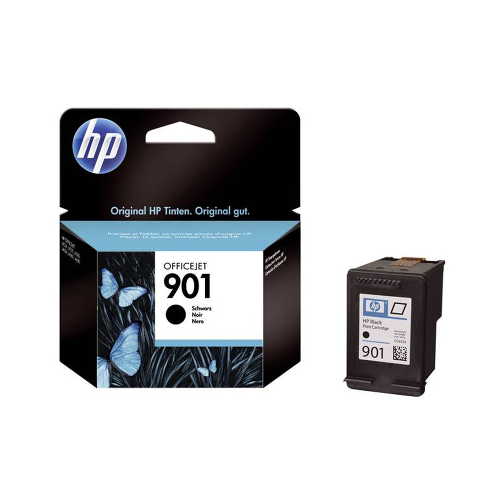 Hewlett Packard 901 Black Inkjet Cartridge (CC653AN) (Genuine)