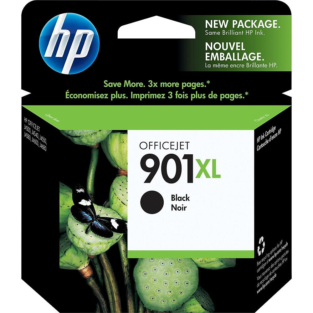 Hewlett Packard 901XL Black Inkjet Cartridge (CC654AN) (Genuine)