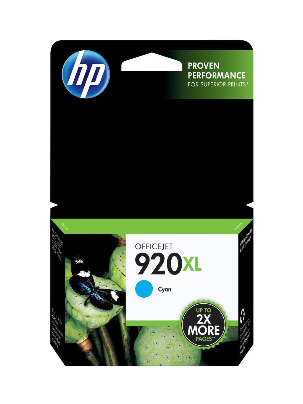 Hewlett Packard 920XL Black Inkjet Cartridge (CD975AN) (Genuine)