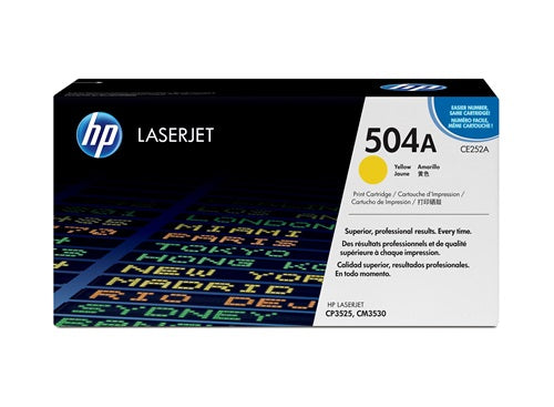 Hewlett Packard CE250X Laser Toner Cartridge (504X) (Genuine)