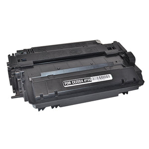 Hewlett Packard CE255X Laser Compatible Toner Cartridge (55X)