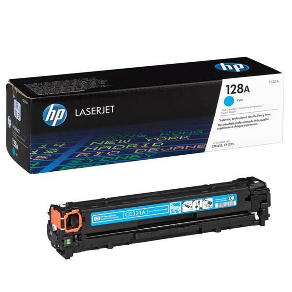 Hewlett Packard CE320A Laser Toner Cartridge (128A) (Genuine)