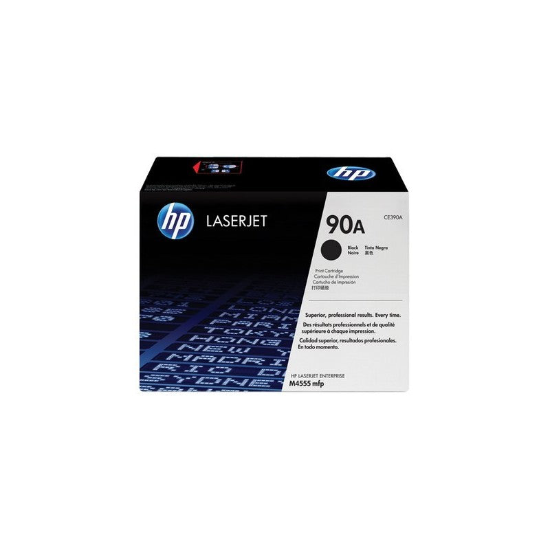 Hewlett Packard CE390A Laser Toner Cartridge (90A) (Genuine)