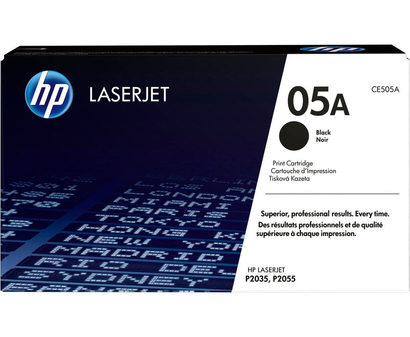 Hewlett Packard CE505A Laser Toner Cartridge (05A) (Genuine)