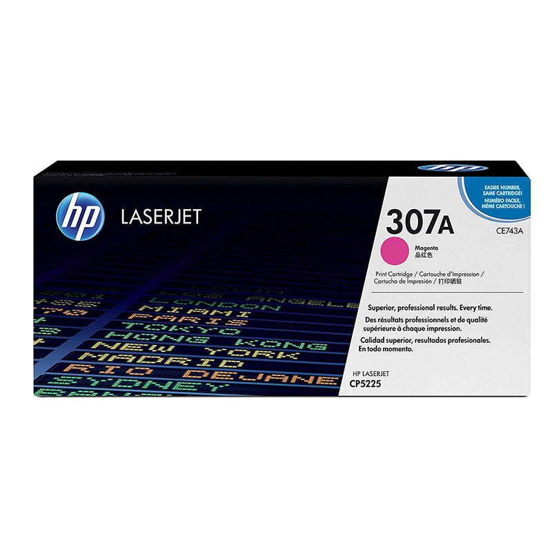 Hewlett Packard CE740A Laser Toner Cartridge (307A) (Genuine)