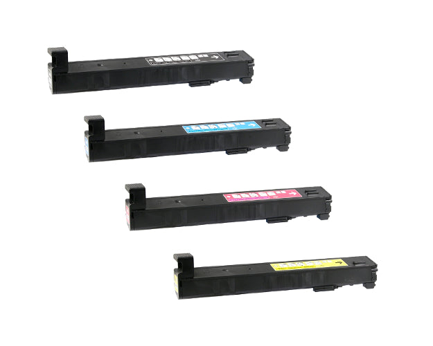 Value Set of 4 Hewlett Packard CF310A Toners: Black / Cyan / Magenta / Yellow (Compatible Toner Cartridges)