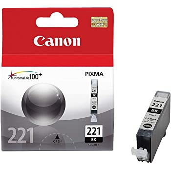 Canon CLI221BK Black Inkjet Cartridge (2946B001) (Genuine)