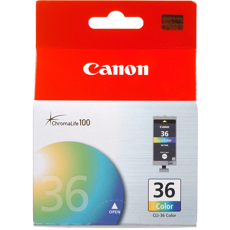 Canon CLI36 Multicolor Inkjet Cartridge (1511B002AA) (Genuine)