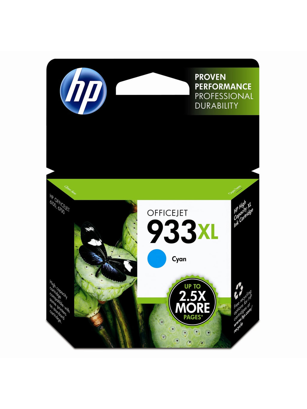 Hewlett Packard 932XL Black Inkjet Cartridge (CN053AN) (Genuine)