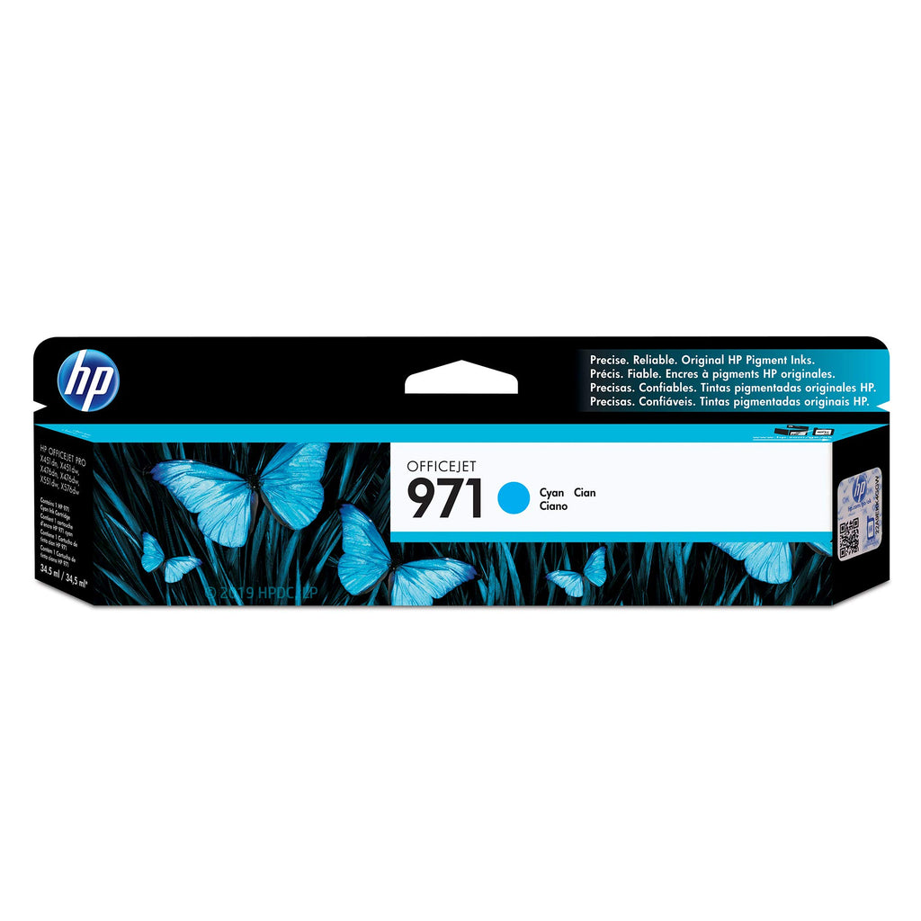 Hewlett Packard 970 Black Inkjet Cartridge (CN621AM) (Genuine)